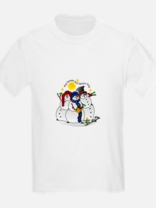 Snowmen Caroling T-Shirt