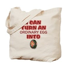Ordinary Egg into Pysanka Tote Bag