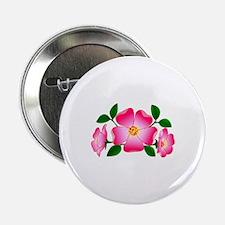 """Prairie Rose 2.25"""" Button (100 pack)"""