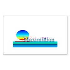 Maximillian Rectangle Decal