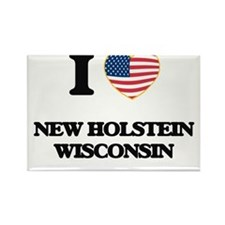 I love New Holstein Wisconsin Magnets