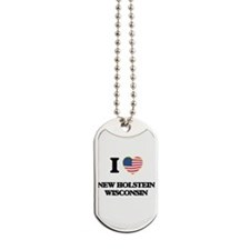 I love New Holstein Wisconsin Dog Tags