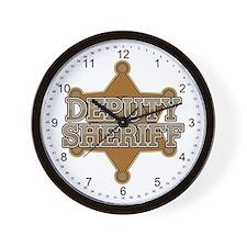 Deputy Sheriff Wall Clock