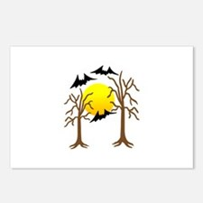 Halloween Trees Postcards (Package of 8)