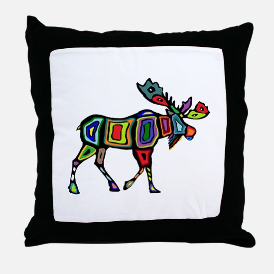 MOOSE STYLED Throw Pillow