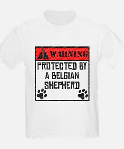 Protected By A Belgian Shepherd T-Shirt