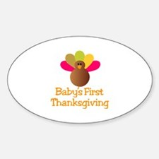 First Thanksgiving Decal