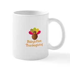 First Thanksgiving Mugs