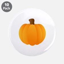 "Applique Pumpkin 3.5"" Button (10 pack)"