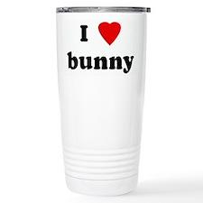 Unique Bunny Travel Mug