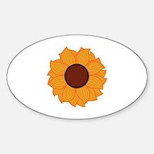 Sunflower Applique Decal