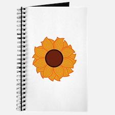 Sunflower Applique Journal