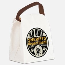 K9 In Dogs We Trust Sheriffs Depa Canvas Lunch Bag