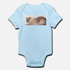 Lilac Burmese Cat Body Suit