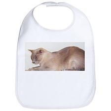 Lilac Burmese Cat Bib