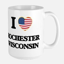 I love Rochester Wisconsin Mugs