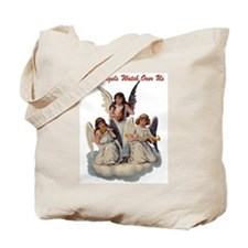 Angels Watch Over Us Tote Bag