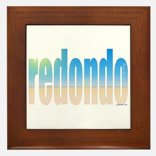 Funny Ca Framed Tile