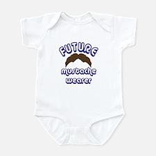Future mustache wearer - Infant Bodysuit