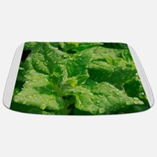 Spinach leaves Bathmat