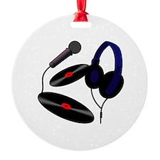 Disc Jockey logo Ornament