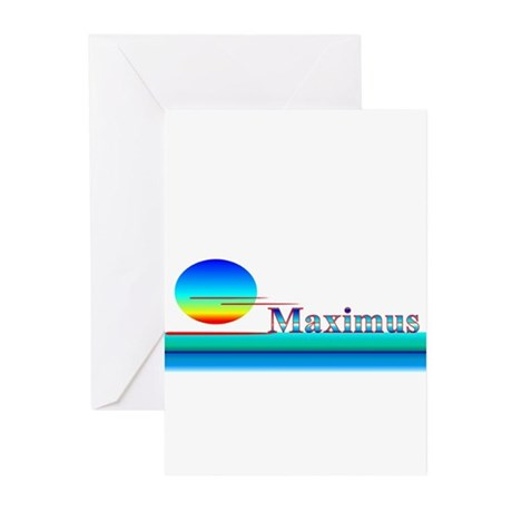 Maximus Greeting Cards (Pk of 10)