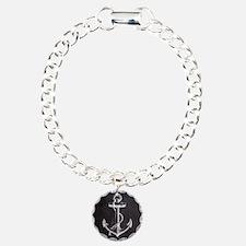 modern nautical anchor Bracelet