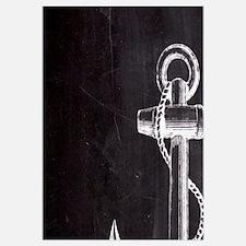 modern nautical anchor
