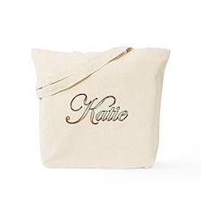 Gold Katie Tote Bag