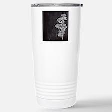 shabby chic floral chal Travel Mug