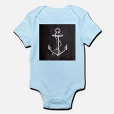 modern nautical anchor Body Suit