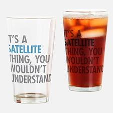 Satellite Thing Drinking Glass