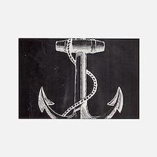 modern nautical anchor Magnets