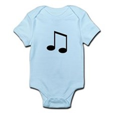 Beamed 8th Note Body Suit