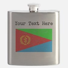 Eritrea Flag (Distressed) Flask