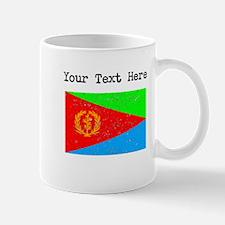 Eritrea Flag (Distressed) Mugs