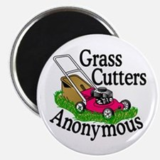 Grass Cutters Anonymous Magnets