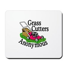 Grass Cutters Anonymous Mousepad