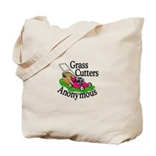 Grass Cutters Anonymous Tote Bag