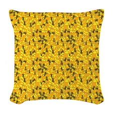 BEEKEEPER Woven Throw Pillow