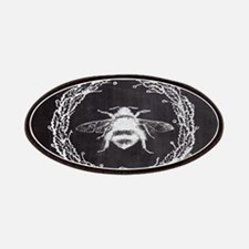 rustic french vintage bee Patch