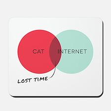 Cat Internet Mousepad