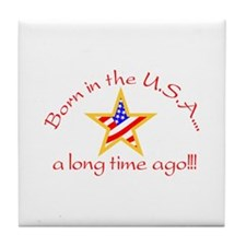 Born in USA Tile Coaster