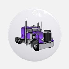Truck 1 Ornament (Round)
