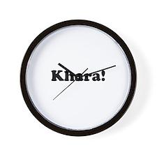 Khara! Wall Clock