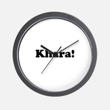 Khara! Wall Clock