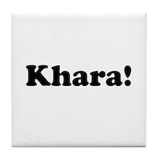Khara! Tile Coaster