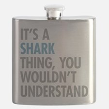 Shark Thing Flask