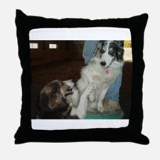 """""""Not Puppies Anymore"""" Throw Pillow"""