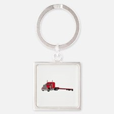 Flatbed Truck Keychains